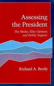 Cover of: Assessing the President | Richard Brody