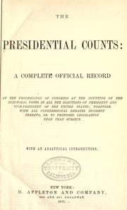 Cover of: The presidential counts by