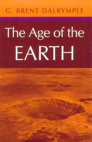 Cover of: The Age of the Earth