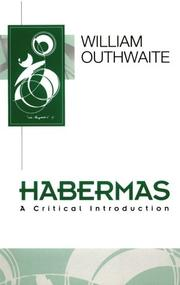 Habermas by William Outhwaite