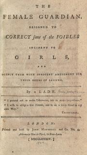 Cover of: The female guardian