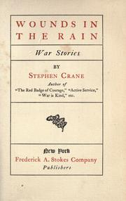 Cover of: Wounds in the rain: war stories
