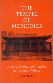 Cover of: The temple of memories