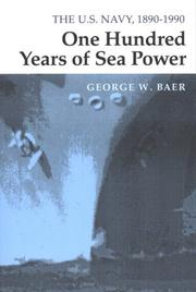 Cover of: One Hundred Years of Sea Power