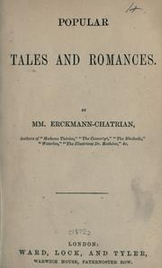 Cover of: Popular tales and romances