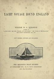 Cover of: A yacht voyage round England