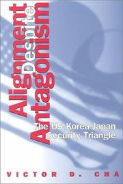 Cover of: Alignment Despite Antagonism | Victor Cha