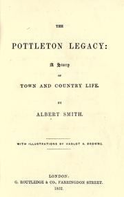 Cover of: The Pottleton legacy