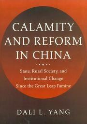 Cover of: Calamity and Reform in China