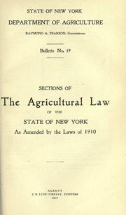 Laws, etc by New York (State).