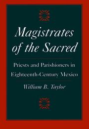Cover of: Magistrates of the Sacred