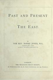 Cover of: Past and present in the East