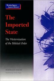 The Imported State by Bertrand Badie