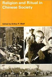 Cover of: Religion and Ritual in Chinese Society