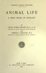 Cover of: Animal life: a first book of zoölogy