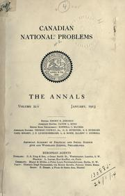 Cover of: Annals. by American Academy of Political and Social Science.