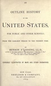 Cover of: An outline history of the United States