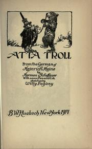 Cover of: Atta Troll