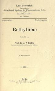 Cover of: Bethylidae