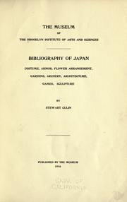 Cover of: Bibliography of Japan | Brooklyn Museum.