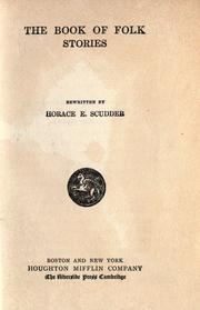 Cover of: The book of folk stories