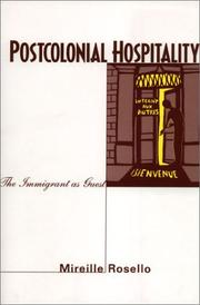 Cover of: Postcolonial Hospitality | Mireille Rosello