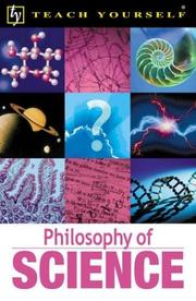 Cover of: Teach Yourself Philosophy of Science | Mel Thompson