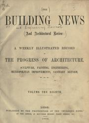 Cover of: Building News and Engineering Journal. |