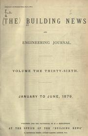 Cover of: Building News and Engineering Journal |
