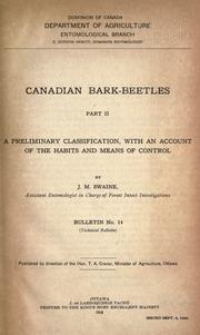 Cover of: Canadian bark-beetles