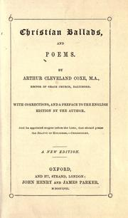 Cover of: Christian ballads and poems ..