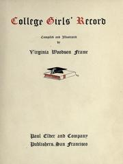 Cover of: College girls