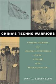 Cover of: China's Techno-Warriors
