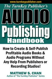Cover of: The TurnKey Publisher's Audio Publishing Handbook