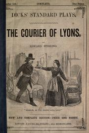 Cover of: The courier of Lyons