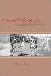 Cover of: Sexual antipodes | Pamela Cheek