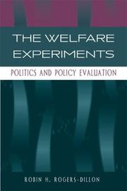 Cover of: The Welfare Experiments