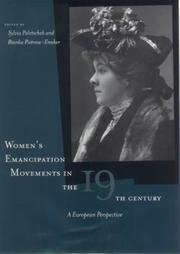 Cover of: Women's emancipation movements in the nineteenth century |