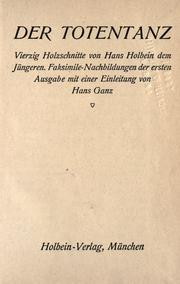 Cover of: Der  Totentanz