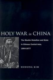 Cover of: Holy war in China | Ho-dong Kim