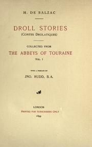 Cover of: Droll Stories