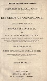 Cover of: Elements of conchology