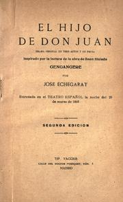 Cover of: El hijo de Don Juan