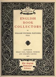 Cover of: English book collectors
