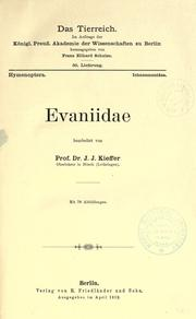 Cover of: Evaniidae