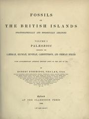 Cover of: Fossils of the British Islands, stratigraphically and zoologically arranged. | Etheridge, Robert