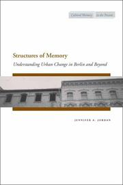 Cover of: Structures of Memory