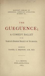Cover of: The Güegüence
