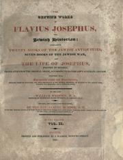 Cover of: The genuine works of Flavius Josephus | Flavius Josephus