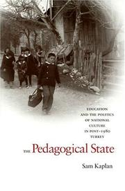 Cover of: The Pedagogical State
